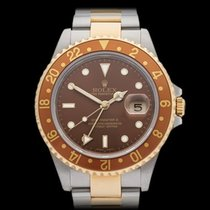 Rolex GMT-Master II Rootbeer Stainless Steel & 18k Yellow...