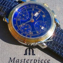 Maurice Lacroix Masterpiece Chronograph CRONEO, Stahl-/18K-Gold