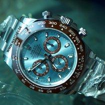 Rolex Cosmograph Daytona Oyster Perpetual Platinum Ice Blue...