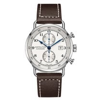 Hamilton Khaki Navy Pioneer Chronograph Automatic Mens Watch...