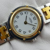 Hermès Clipper Lady Quarz - Steel-Gold