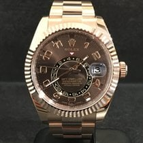 Rolex Sky-Dweller - Ref. 326935 Chocolate Arab NEW