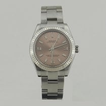 Rolex OYSTER PERPETUAL STEEL & WHiTE GOLD BEZEL 31mm