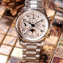 浪琴 (Longines) LONGINES 月相小年曆腕錶L26734786