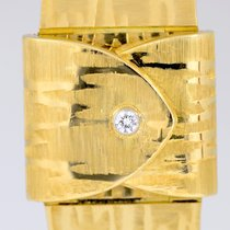 Omega 18K Gold Secret Cocktail Lady Vintage Dresswatch...