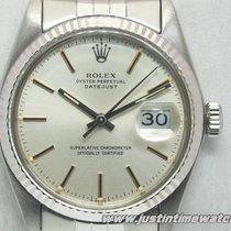 Rolex Vintage Oyster DateJust 16014 quadrante argento full set