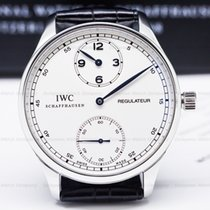 IWC IW544401 5444 Portuguese Regulator Vintage Collection SS...