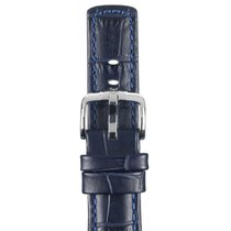 Hirsch Uhrenarmband Grand Duke blau L 02528080-2-24 24mm