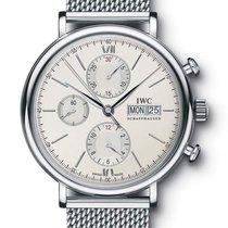 IWC PORTOFINO Chronograph Silver Dial IW391009 T