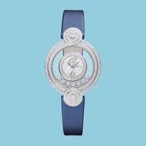 Chopard Happy Diamonds Icons Quarz Weißgold blau techno-Satin...