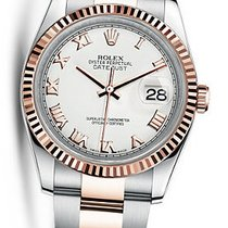 Rolex OYSTER PERPETUAL DATEJUST 36 EVEROSE WHITE 116231