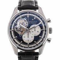 Zenith Chronomaster 42 Chronograph Black Dial