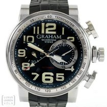 Graham Uhr Silverstone Stowe Classic Steel Automatik Ref....