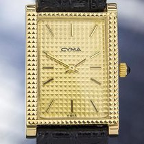 Cyma Gold Plated Manual Wind Dress Watch 1970's Swiss Made # T775