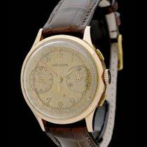 Leonidas Chronograph - Vintage - 50er Jahre - Rosegold -...