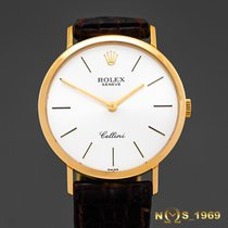 Rolex Cellini  Ref. 4112 18K Gold Men's  32mm   Box