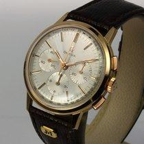 Omega top Vintage Chronograph 18K Roségold Kal.321