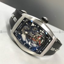 卡斯托斯  (Cvstos) - Challenge 001 CVT Tourbillion Skeleton Dial...