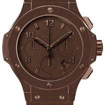 Hublot Big Bang Brown PVD Ceramic Chronograph Automatic