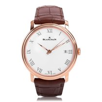 Blancpain Villeret 8 Jours Automatic Mens Watch 6630-3631-55B