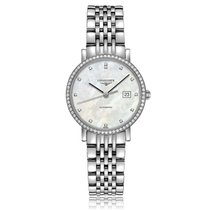 Longines Elegant Collection Automatic Stainless Steel Mother-O...