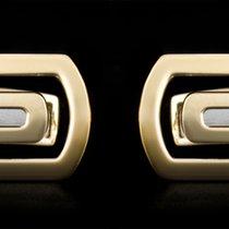 Bulgari 18k Yellow Gold Parentesi Collection Cufflinks