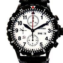 Damasko DC67 Si Black Chronograph Stahl Faltschließe Automatik...