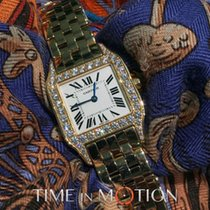 Cartier Santos Demoiselle Haute Joaillerie Large FULL SET 2013