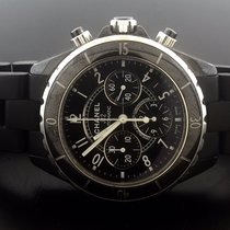 Chanel J12 CHRONOGRAPH BLACK
