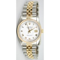 Rolex Datejust 68273 Midisze Steel and 18K Gold Jubilee Band...