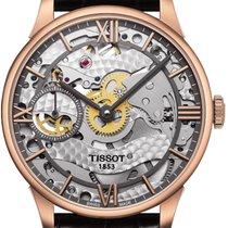 Tissot T-Classic Chemin des Tourelles Skeleton Handaufzug...