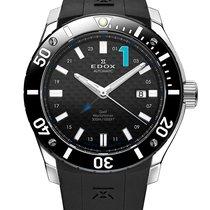 Edox Chronoffshore 1 GMT Worldtimer Automatik 93005 3 NBU