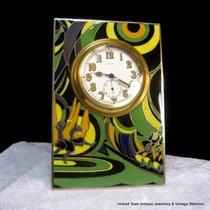 Rolex Rarest Rolex Marconi Made TRUE JAZZ AGE ART DECO ENAMEL PLQ