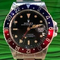 Rolex GMT - Master Ref. 16750 Top/Papiere/ LC100