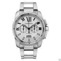 Cartier Calibre de Cartier Chronograph W7100045 Steel Silver Dial