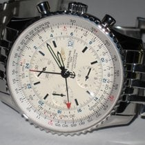 Breitling Navitimer World GMT Stainless Steel Automatic