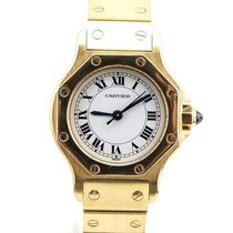 Cartier Santos Or 18 Ct