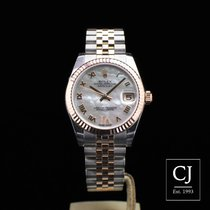 Rolex Lady-Datejust 31 Steel & Rose Gold 31mm Mid Size...