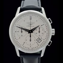 Longines Heritage Colomn Wheel Chrono - Ref.: L2.749.4 -...