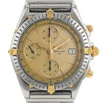 Breitling Chronomat en plaqué or et acier Ref : B13050 Vers 2000