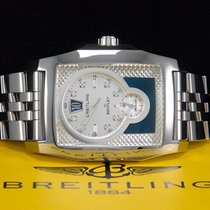 Breitling for Bentley Flying B Jumping Hour DIAMONDS Stahl aus...