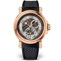 Breguet Marine Dual Time Rose Gold Watch