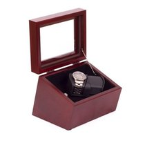 American Chest The Admiral, Double Watch Winder - Solid Cherry...