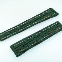 Breitling Band 16mm Hai Grün Green Shark Strap Correa Für...