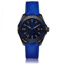 TAG Heuer Aquaracer Automatic Titanium Black Dial Mens Watch...