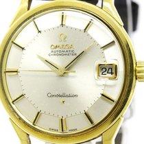 Omega Vintage Omega Constellation Cal 561 Pie Pan Dial 18k...