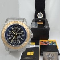 Breitling Mens Breitling Superocean Chronometre 18k Gold &...