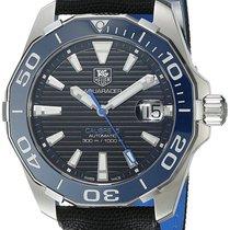 TAG Heuer Aquaracer Calibre 5 Nylon Band Automatic Men Watch...