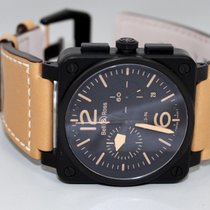 Bell & Ross Heritage Chronograph 42mm PVD BR03-94