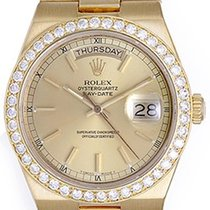 Rolex Oysterquartz President Day-Date Men's Gold &...